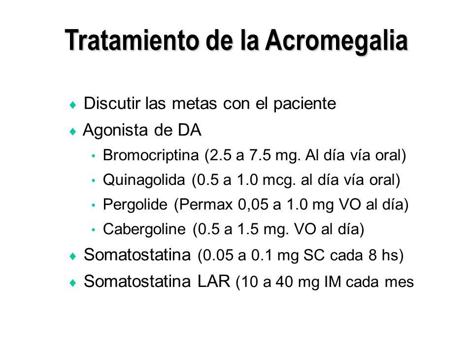 Tratamiento de la Acromegalia