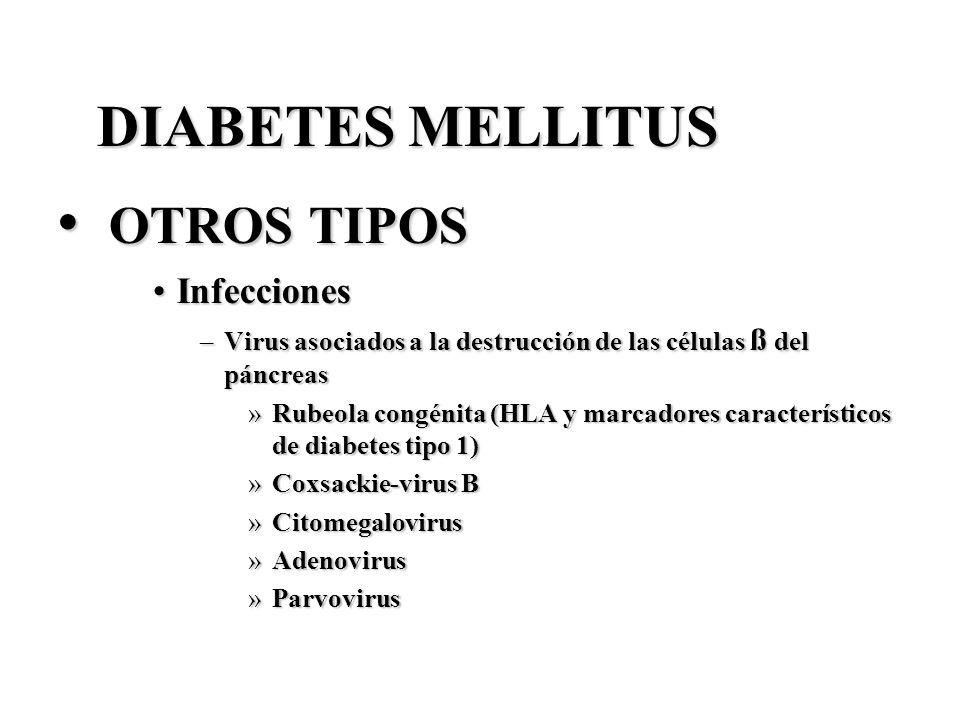 OTROS TIPOS DIABETES MELLITUS Infecciones