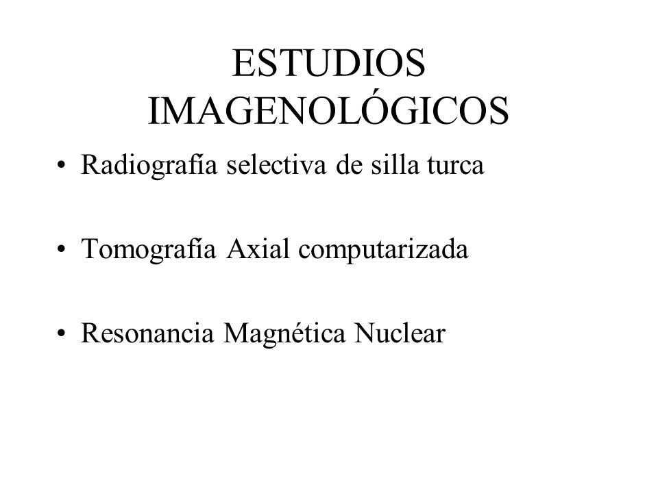 ESTUDIOS IMAGENOLÓGICOS