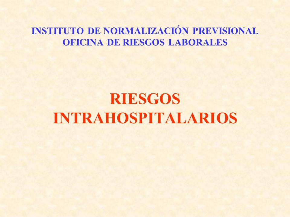 INSTITUTO DE NORMALIZACIÓN PREVISIONAL OFICINA DE RIESGOS LABORALES