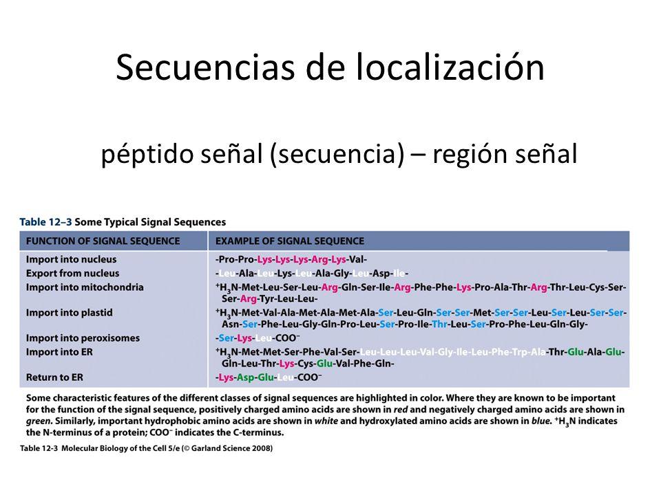 Secuencias de localización