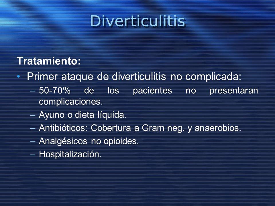 Diverticulitis Tratamiento: