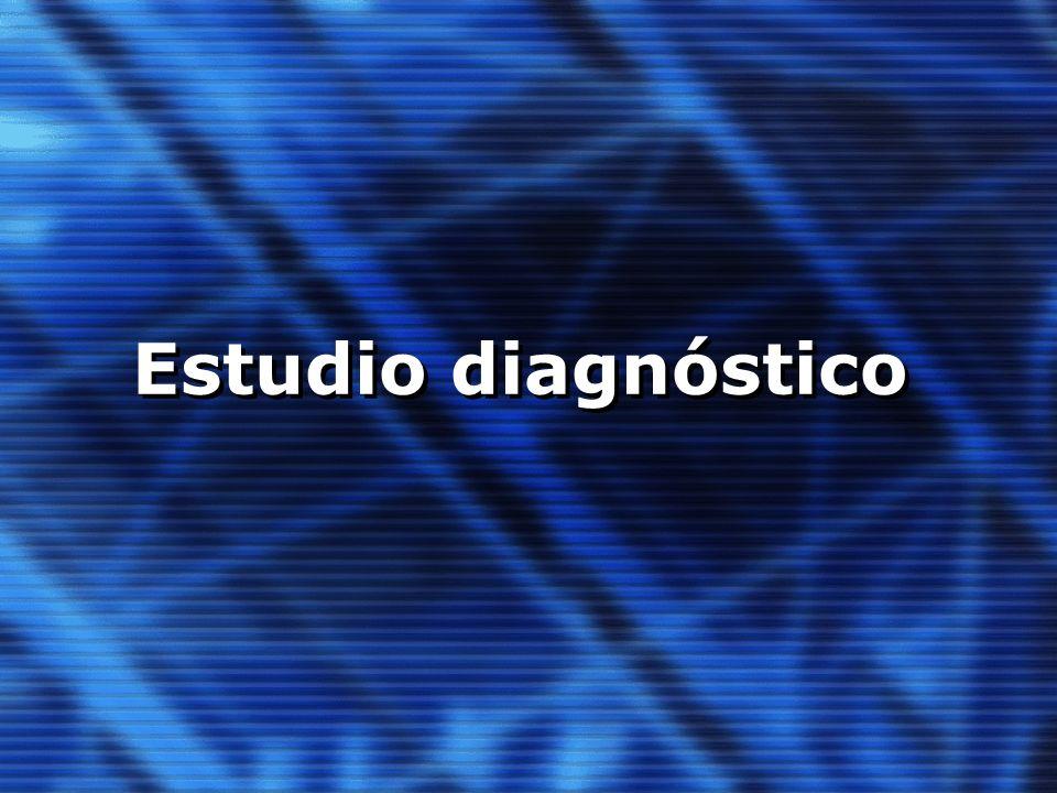 Estudio diagnóstico