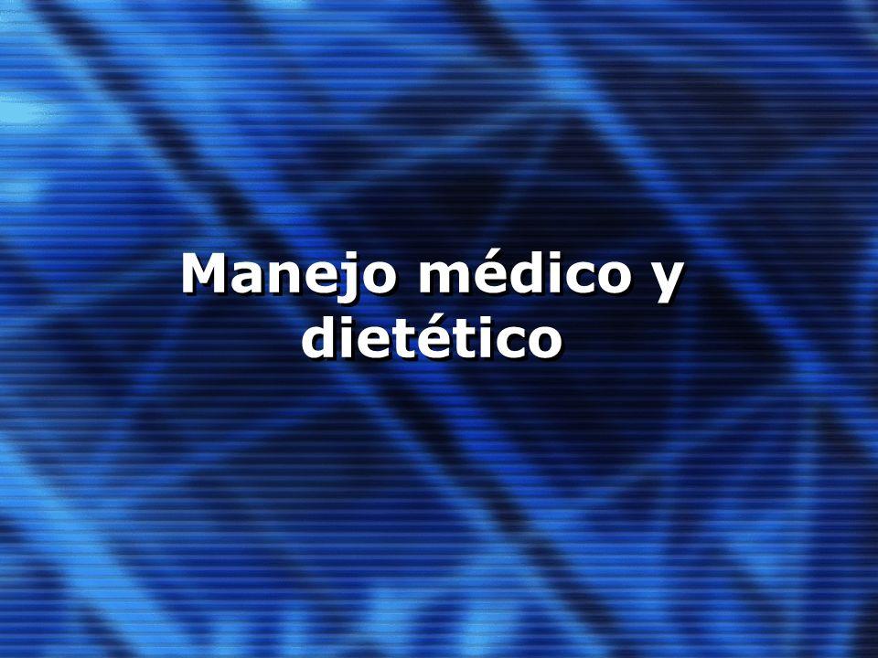 Manejo médico y dietético