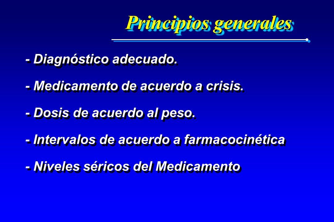 Principios generales - Diagnóstico adecuado.