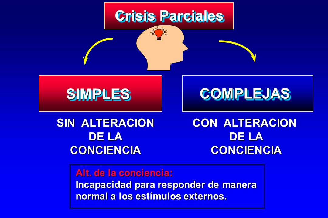 Crisis Parciales SIMPLES COMPLEJAS