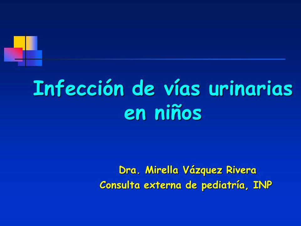 Infección de vías urinarias en niños