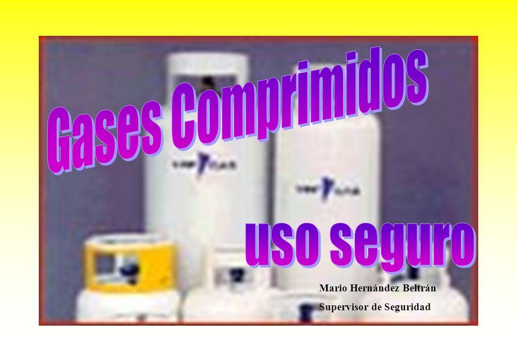 Gases Comprimidos uso seguro Mario Hernández Beltrán