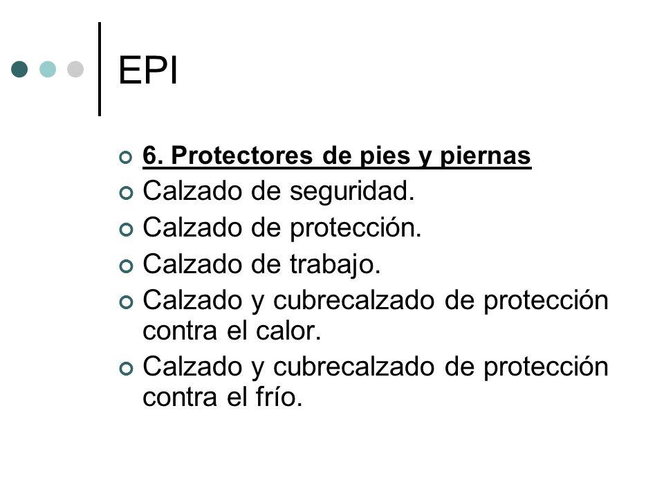 EPI Calzado de seguridad. Calzado de protección. Calzado de trabajo.