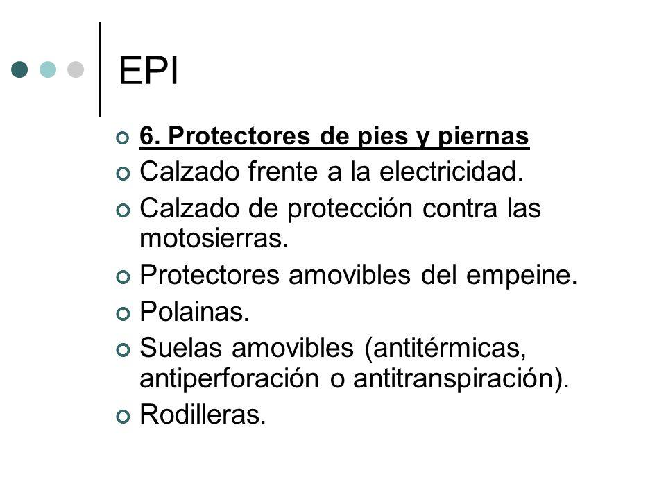 EPI Calzado frente a la electricidad.