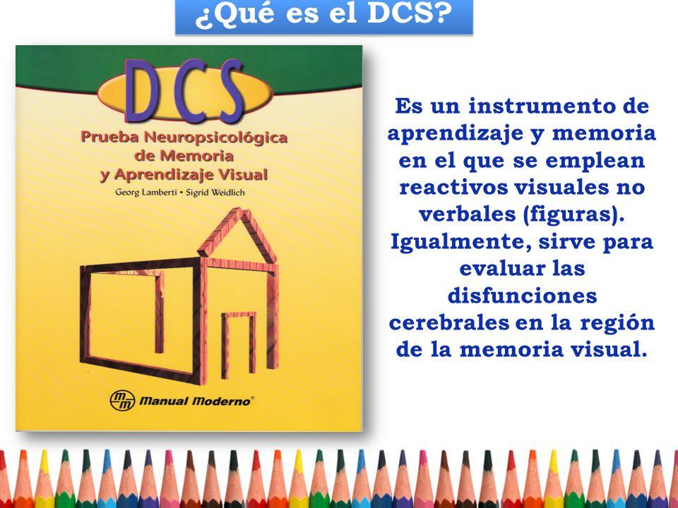 ¿Qué es el DCS