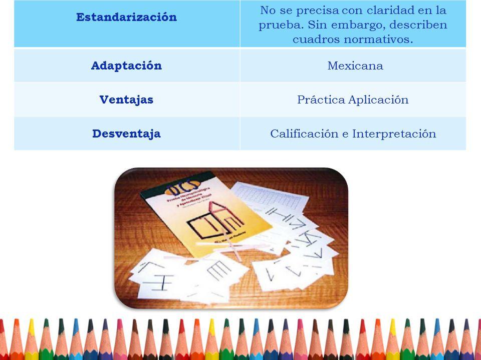 Calificación e Interpretación