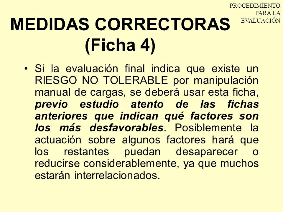 MEDIDAS CORRECTORAS (Ficha 4)
