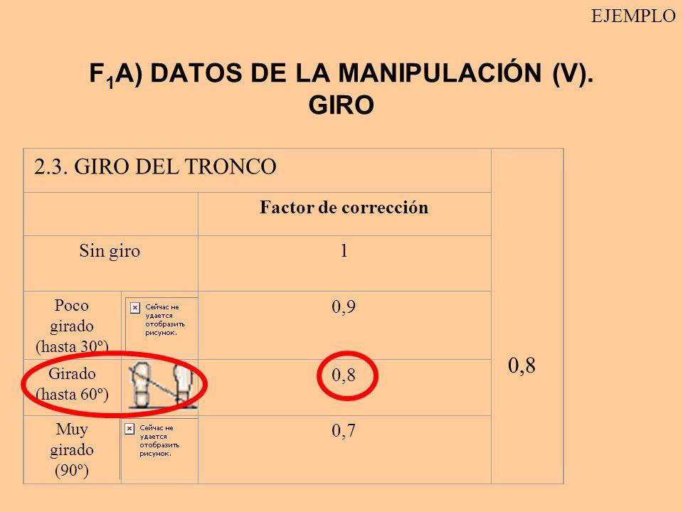 F1A) DATOS DE LA MANIPULACIÓN (V). GIRO