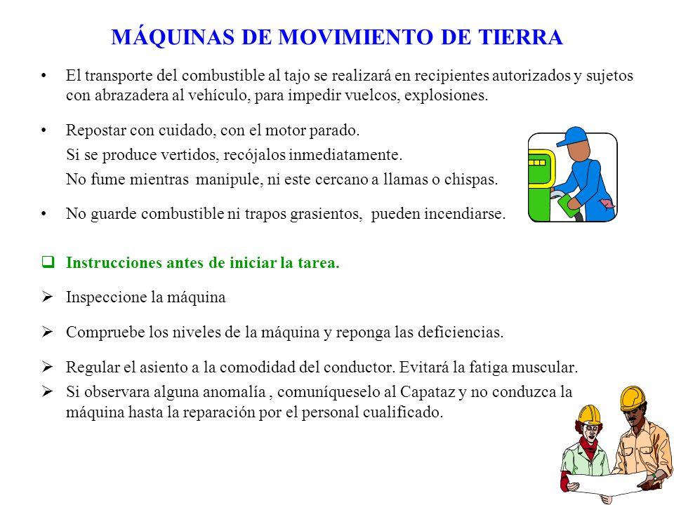 MÁQUINAS DE MOVIMIENTO DE TIERRA