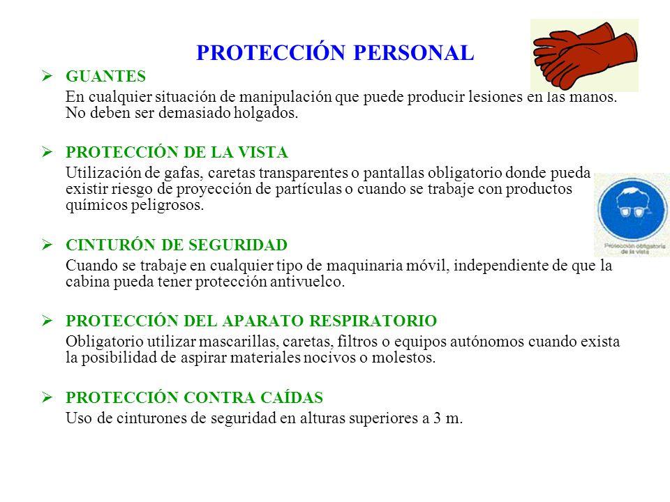 PROTECCIÓN PERSONAL GUANTES