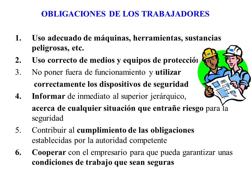 OBLIGACIONES DE LOS TRABAJADORES