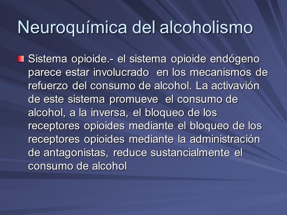 Neuroquímica del alcoholismo