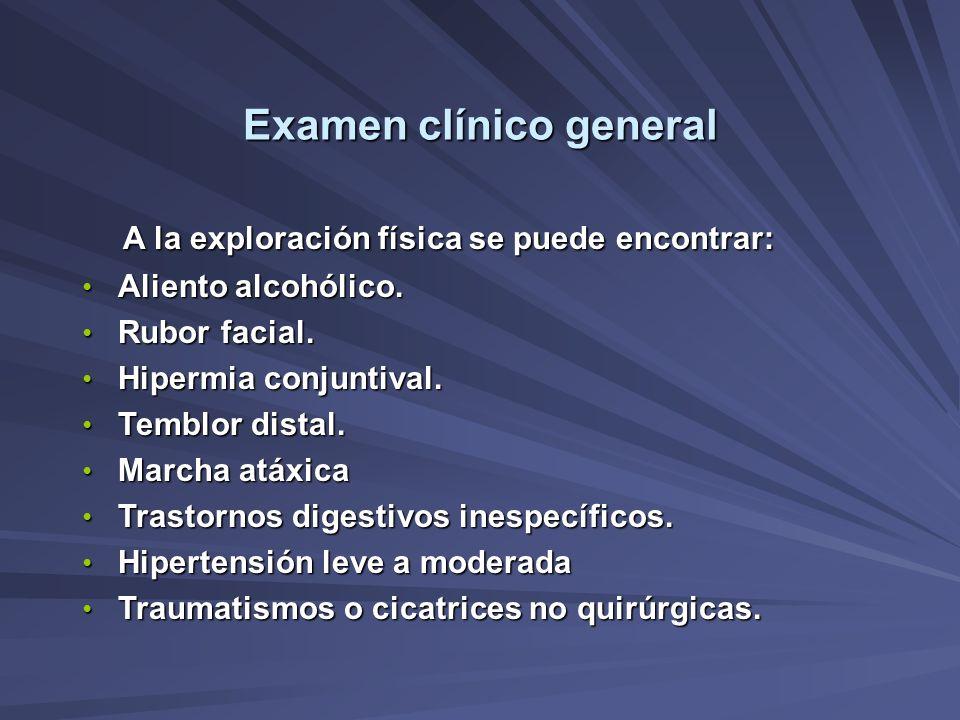 Examen clínico general