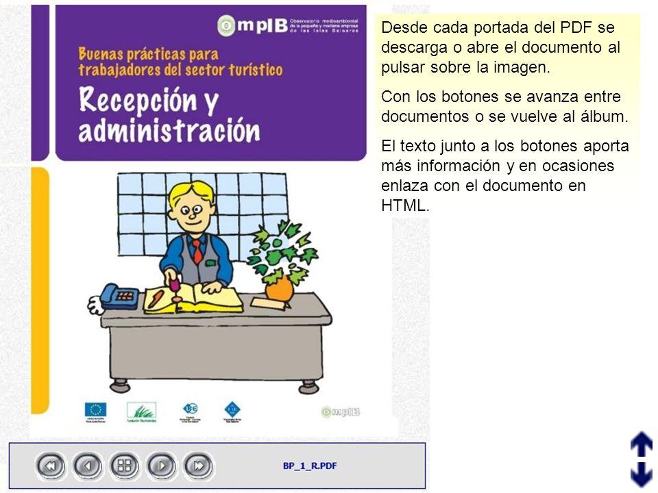 Desde cada portada del PDF se descarga o abre el documento al pulsar sobre la imagen.