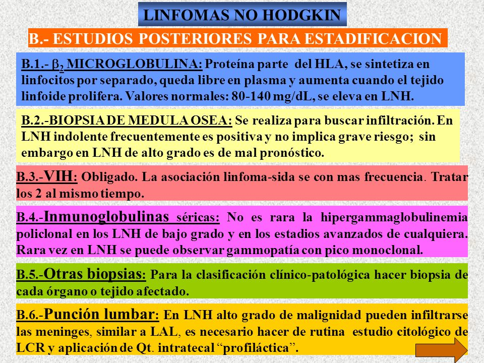 B.- ESTUDIOS POSTERIORES PARA ESTADIFICACION