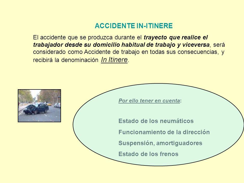 Estado de los neumáticos Funcionamiento de la dirección