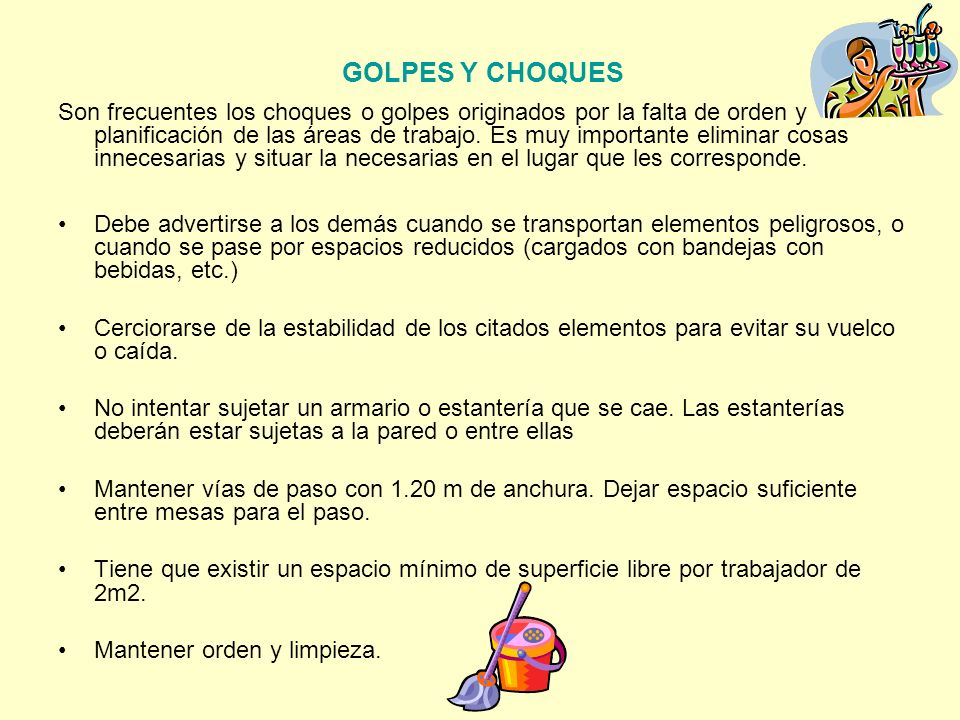 GOLPES Y CHOQUES