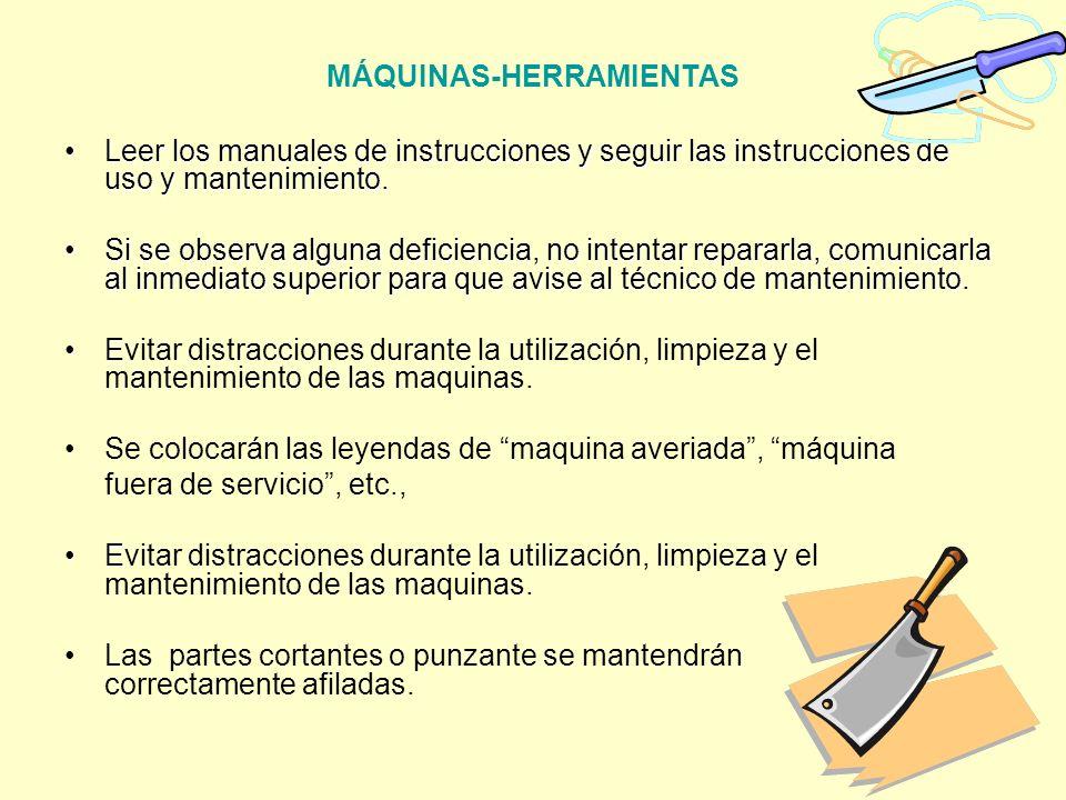 MÁQUINAS-HERRAMIENTAS