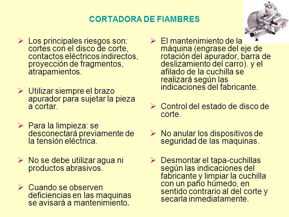 CORTADORA DE FIAMBRES