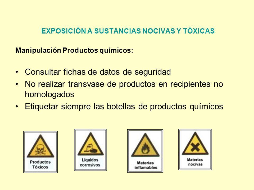 EXPOSICIÓN A SUSTANCIAS NOCIVAS Y TÓXICAS