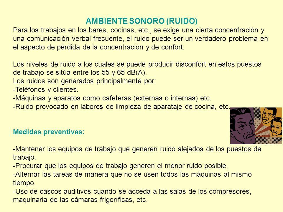 AMBIENTE SONORO (RUIDO)