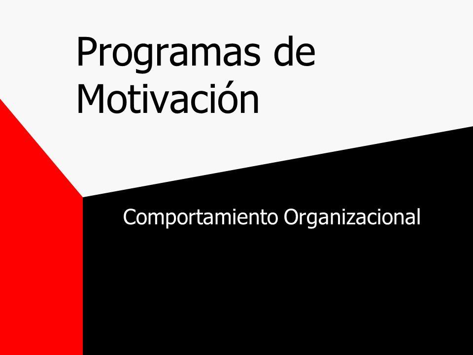 Programas de Motivación