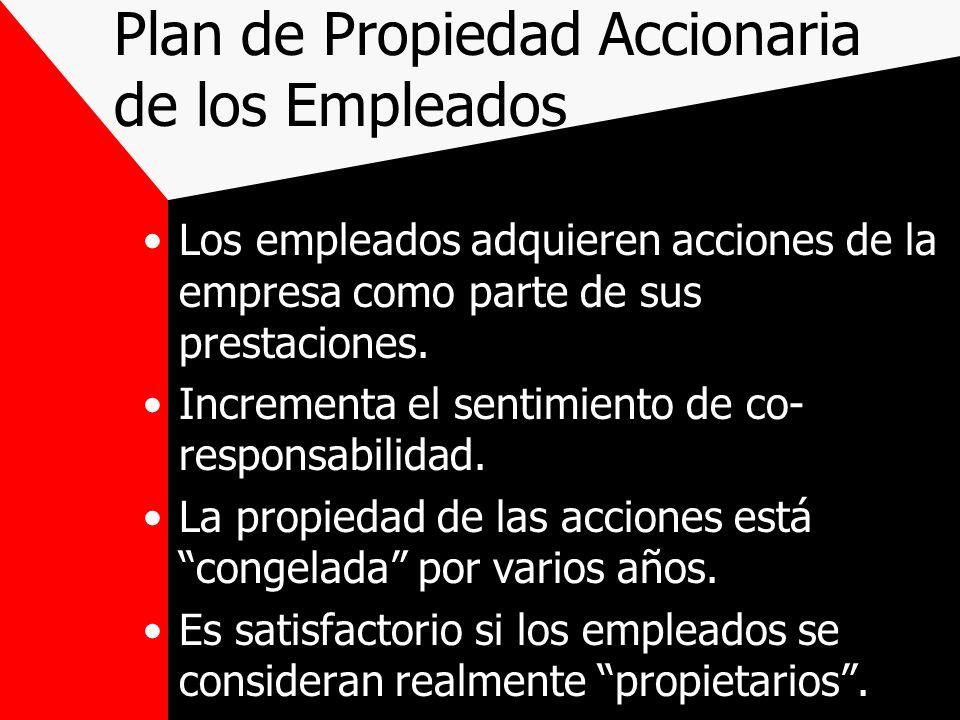 Plan de Propiedad Accionaria de los Empleados