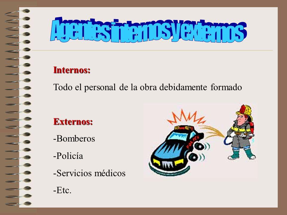 Agentes internos y externos
