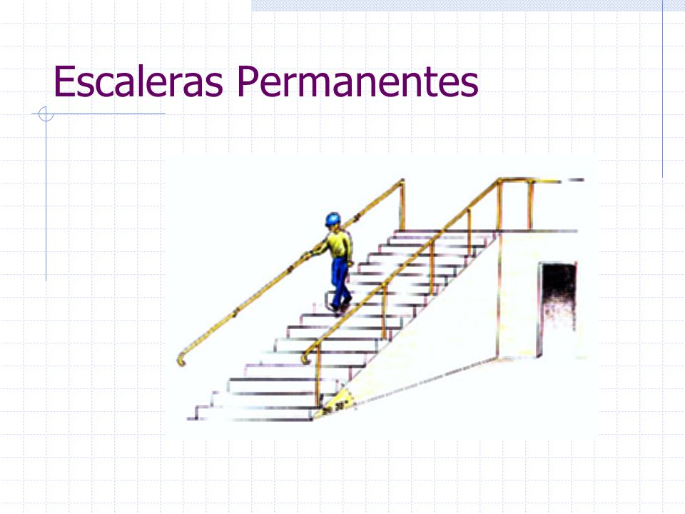 Escaleras Permanentes