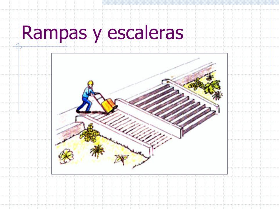 Rampas y escaleras