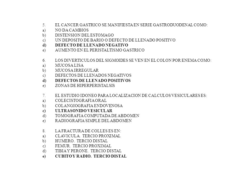 EL CANCER GASTRICO SE MANIFIESTA EN SERIE GASTRODUODENAL COMO: