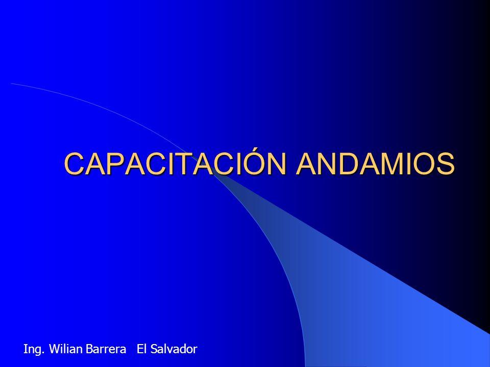 CAPACITACIÓN ANDAMIOS