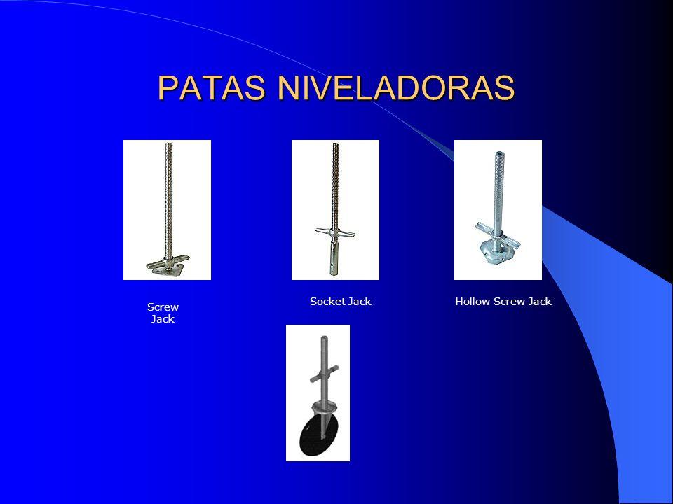 PATAS NIVELADORAS Socket Jack Hollow Screw Jack Screw Jack