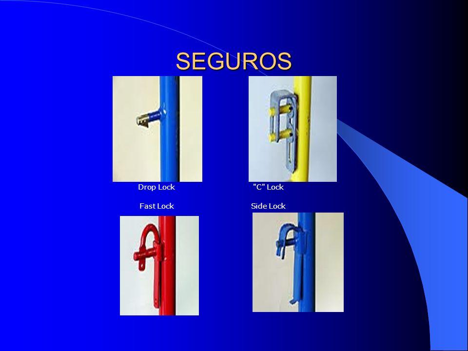 SEGUROS Drop Lock C Lock Fast Lock Side Lock