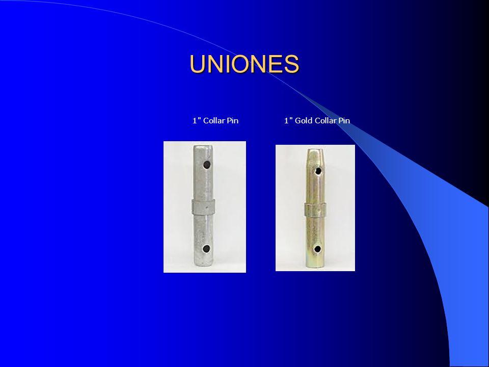 1 Collar Pin 1 Gold Collar Pin UNIONES