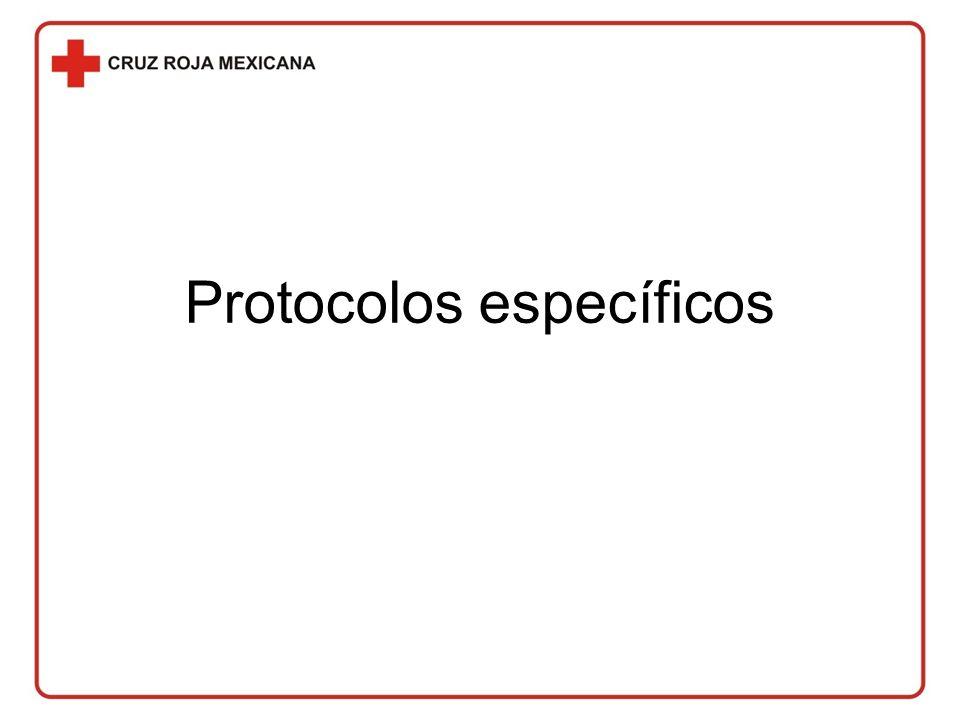 Protocolos específicos