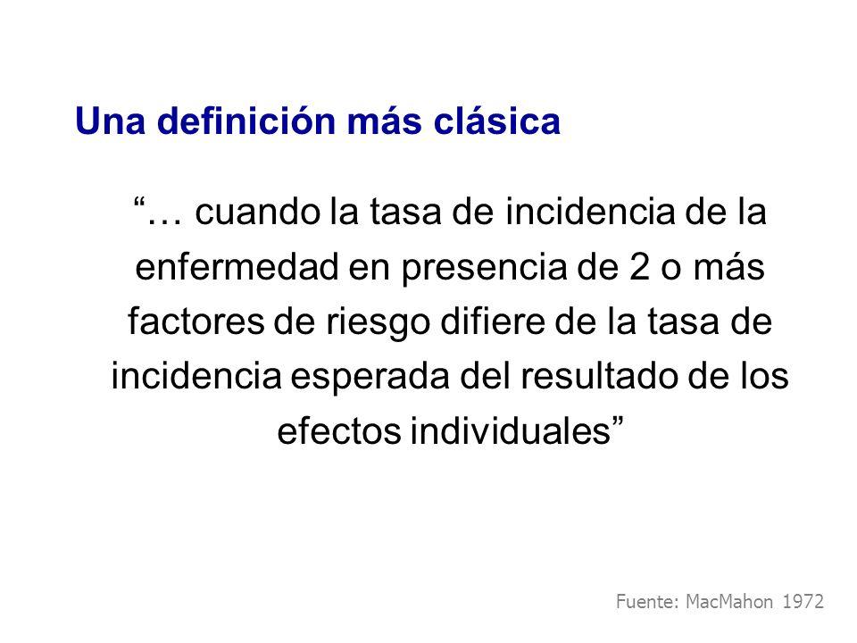 Una definición más clásica