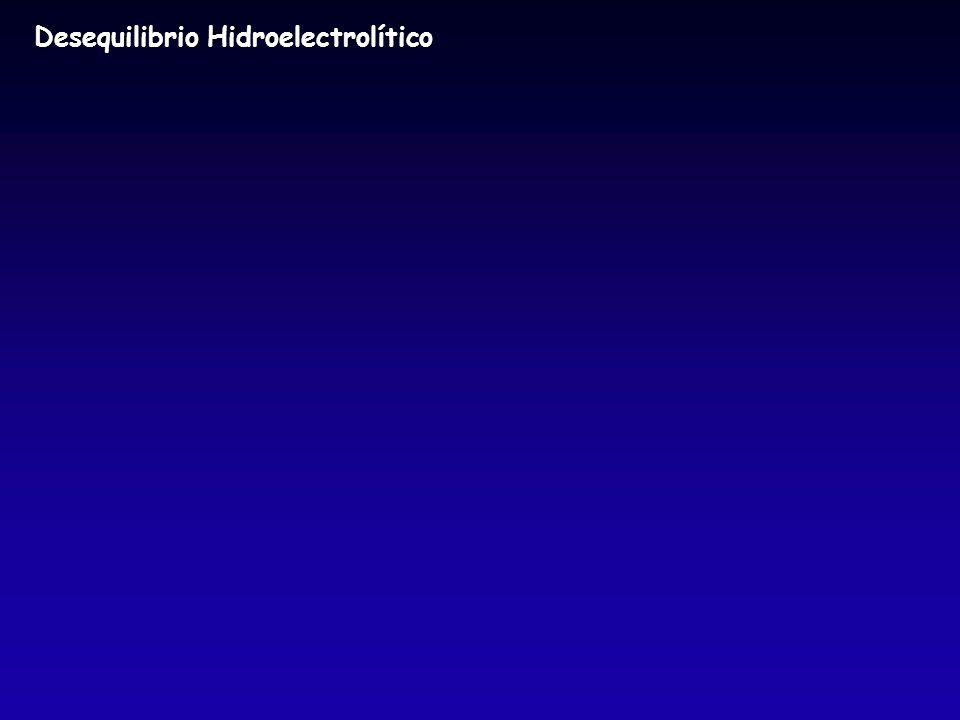 Desequilibrio Hidroelectrolítico