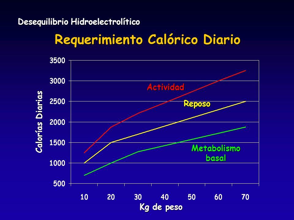 Requerimiento Calórico Diario