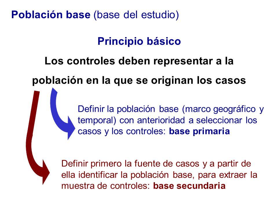 Población base (base del estudio)