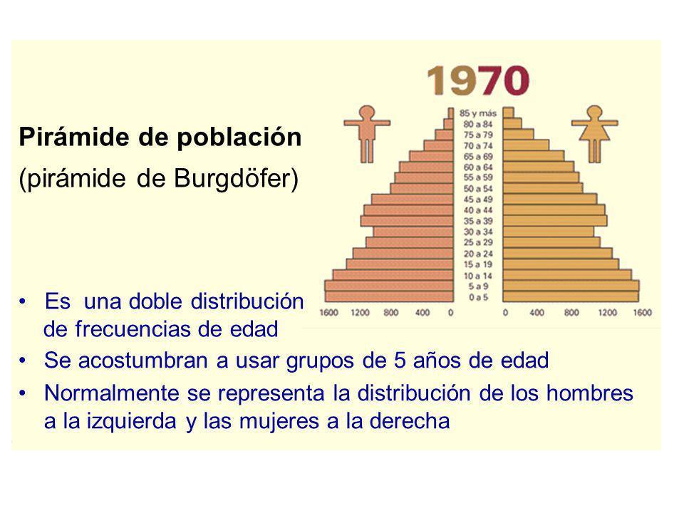 Pirámide de población (pirámide de Burgdöfer)