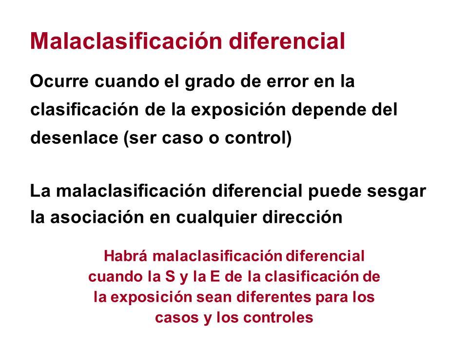 Malaclasificación diferencial