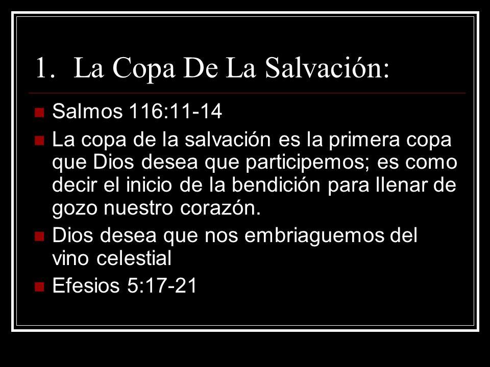 La Copa De La Salvación:
