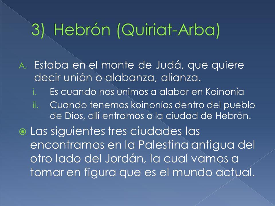 Hebrón (Quiriat-Arba)